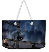 Midnight Flyer Weekender Tote Bag