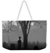 Midnight Graveyard Fog Weekender Tote Bag