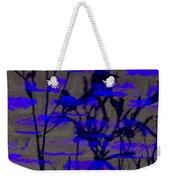 Midnight Lillies Weekender Tote Bag