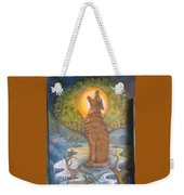 Midnight Mountain Majic 3 Weekender Tote Bag