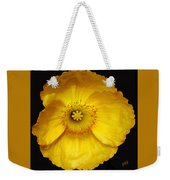 Midnight Poppy Weekender Tote Bag