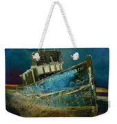 Midnight Shipwreck Weekender Tote Bag