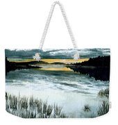 Midnight Sun Weekender Tote Bag