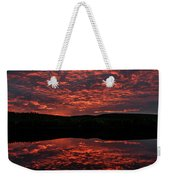 Midnight Sun In Norbotten Weekender Tote Bag