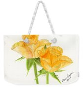 Midsummer Roses Weekender Tote Bag