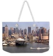 Midtown Manhattan Panorama Weekender Tote Bag