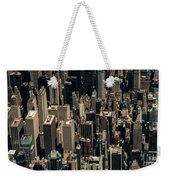 Midtown Manhattan Skyline Aerial Weekender Tote Bag
