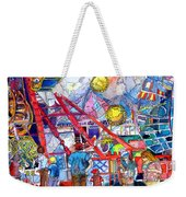 Midway Amusement Rides Weekender Tote Bag