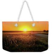 Midwest Sunset Weekender Tote Bag