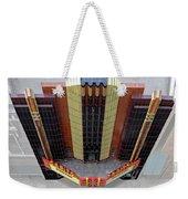 Art Deco Theater Weekender Tote Bag