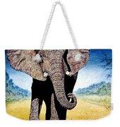 Mighty Elephant Weekender Tote Bag