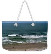 Mighty Ocean Aerial View Weekender Tote Bag