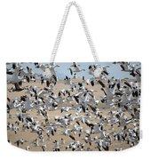 Migrating Snow Geese Weekender Tote Bag