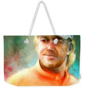 Miguel Angel Jimenez Weekender Tote Bag
