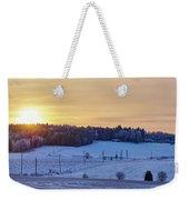 Mihari Sunset Weekender Tote Bag