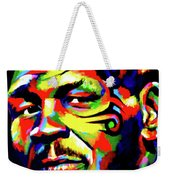Mike Tyson Abstract Weekender Tote Bag