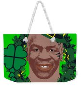 Mike Tyson Funny St. Patrick's Day Design Kith Me I'm Irith Weekender Tote Bag