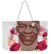 Mike Tyson Inspired Valentines Happy Valentine'th Day  Weekender Tote Bag