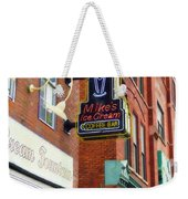 Mike's Ice Cream And Coffee Bar Weekender Tote Bag