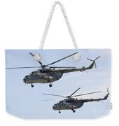 Mil Mi-17 Helicopters Of The Czech Air Weekender Tote Bag
