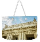 Milan Italy Train Station Facade Weekender Tote Bag