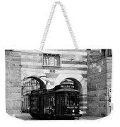 Milan Trolley 5b Weekender Tote Bag
