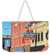 Miles City, Montana - Downtown Casino 2 Weekender Tote Bag