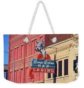 Miles City, Montana - Downtown Casino Weekender Tote Bag