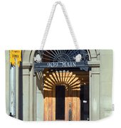 Miles City, Montana - Downtown Entrance Weekender Tote Bag