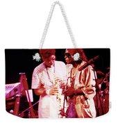 Miles Davis Image 10 And Bob Berg 1985 Your Under Arrest Tour Weekender Tote Bag