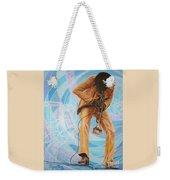 Miles Davis  In A Yellow Suit Weekender Tote Bag