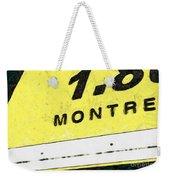 Miles To Go II Weekender Tote Bag