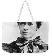 Mileva Maric (1875-1948) Weekender Tote Bag