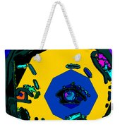 Miley Cyrus At Five With An Attitude Print Weekender Tote Bag