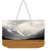 Milford Sound Mountains On South Island New Zealand Weekender Tote Bag