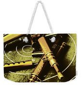 Military Green Pop Art  Weekender Tote Bag