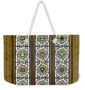 Military Insignia On Stained Glass - Meuse Argonne - East Weekender Tote Bag