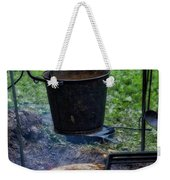 Military Revolutionary War Campfire Vertical Weekender Tote Bag