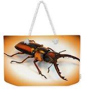 Military Stag Beetle Weekender Tote Bag