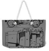 Military Vehicle Body Patent Drawing 1d Weekender Tote Bag