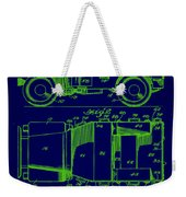 Military Vehicle Body Patent Drawing 1e Weekender Tote Bag