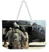 Military Working Dog Handlers Board Weekender Tote Bag
