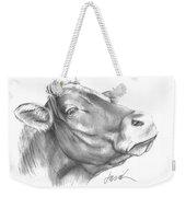 Milk Cow Weekender Tote Bag