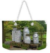 Milkcans Wiltshire England Weekender Tote Bag