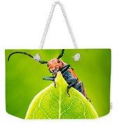 Milkweed Beetle Weekender Tote Bag
