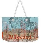 Milkweed Collage Weekender Tote Bag