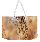 Milkweed In The Breeze Weekender Tote Bag