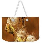 Milkweed Weekender Tote Bag