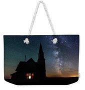 Milky Way And Old Church Weekender Tote Bag