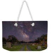 Milky Way Cemetery Weekender Tote Bag